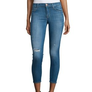 J Brand ALANA High Waisted Cropped Jeans